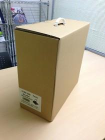こんな箱入りで届きました