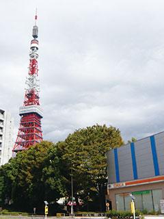 (写真6)赤羽橋から見る東京タワー